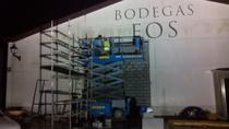 oPraSL: Tabiquería en Bodegas FOS